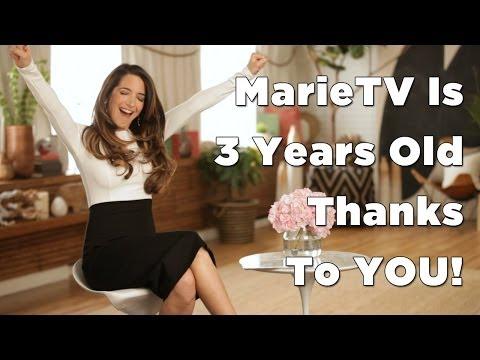 MarieTV's 3rd Anniversary