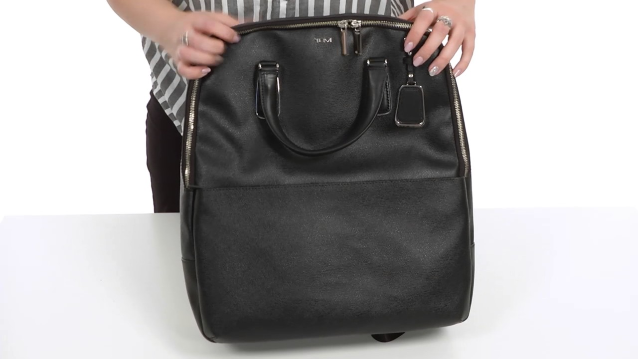 2691e24fc34 Tumi Sinclair Olivia Convertible Backpack SKU 8921458 - YouTube