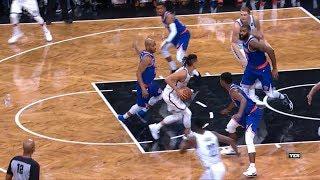 Jeremy Lin Highlights - 10/8/17 Knicks at Nets