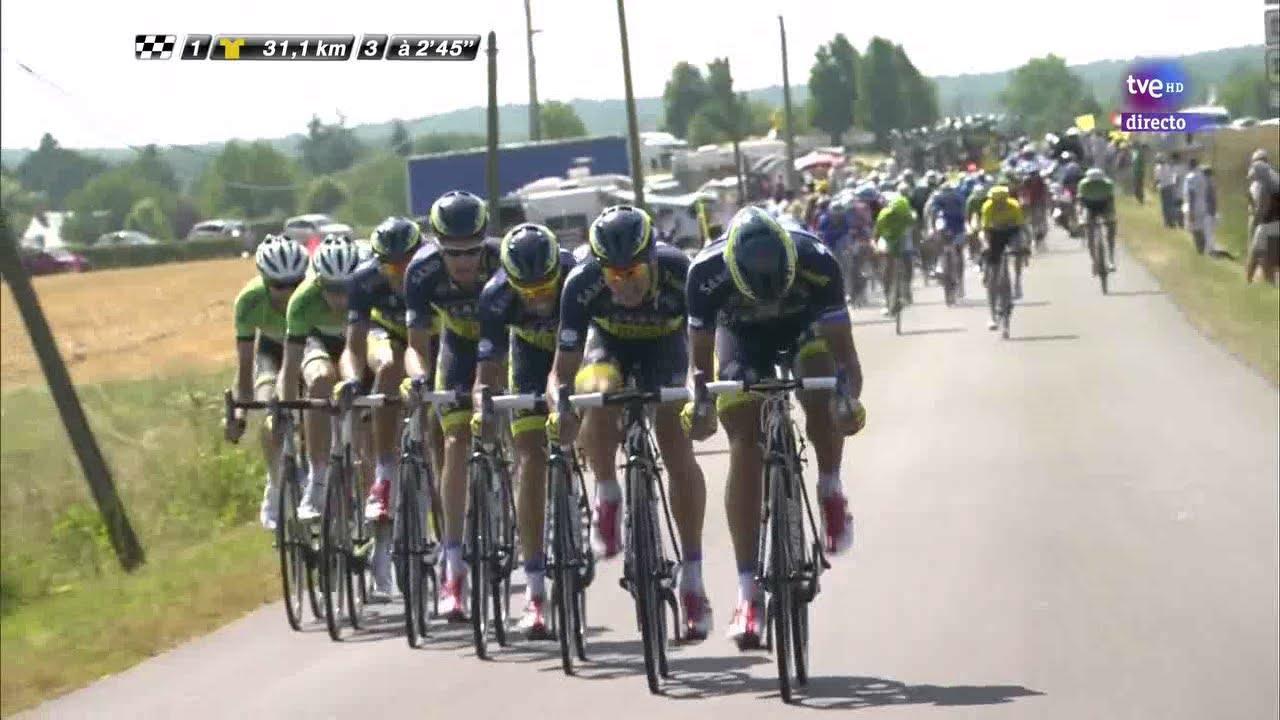 Tour De Francia 2013 Abanicos Froome Cortado Etapa 13 Hd Youtube