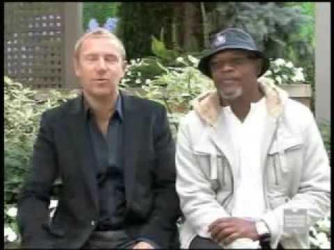 "Samuel L  Jackson and ""Cleaner"" Director Renny Harlin"