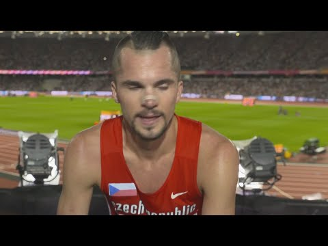 WCH 2017 London- Jakub Holusa CZE 15000 Metres Heat 2