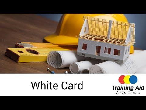 White Card Training Course   Training Aid Australia Sydney