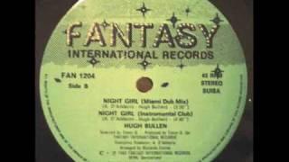 HUGH BULLEN - NIGHT GIRL (℗1988)