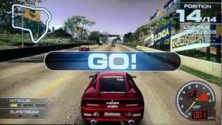 15 min z Ridge Racer 7 - PS3 Gameplay by maxim