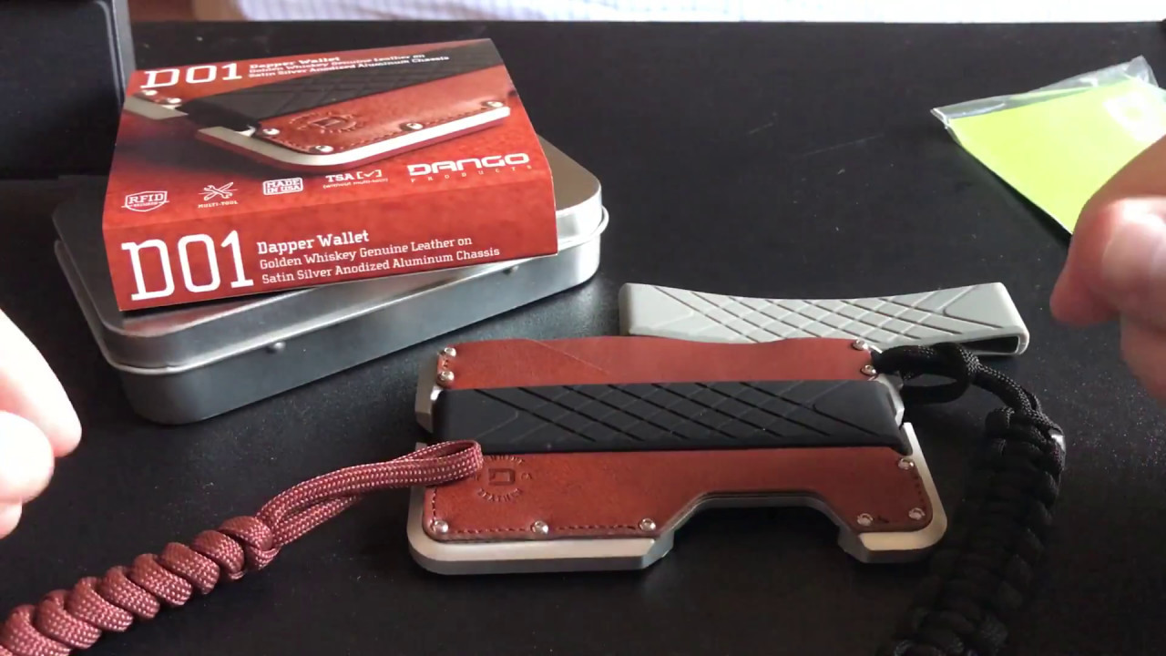 Dango Product, Tactical Wallet Review and Unboxing - EDC