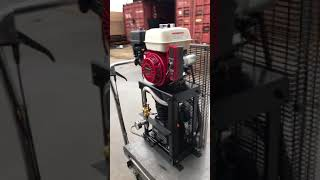 Cube Gas Engine Driven 12cfm Compressor