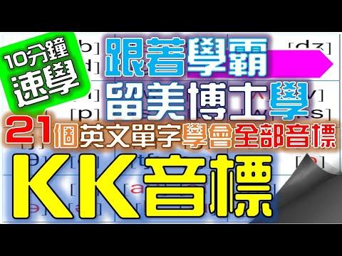 KK音標(05):子音[f][v][s][z][θ][ð]