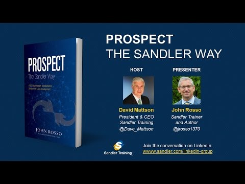 Prospect the Sandler Way Webinar