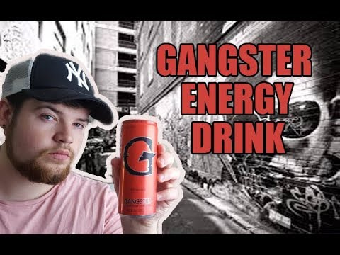 Gangster Energy Drink Review (berry flavour uk)