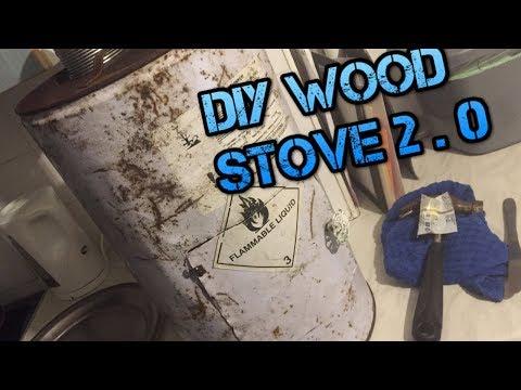 DIY WOOD STOVE 2 0