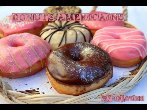 recette donuts beignet americain american donuts youtube. Black Bedroom Furniture Sets. Home Design Ideas
