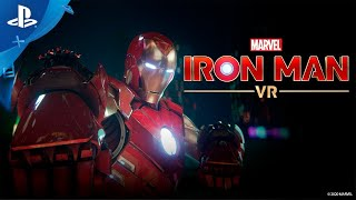 Marvel's Iron Man VR – Suit Up  y conquista los cielos | PlayStation VR