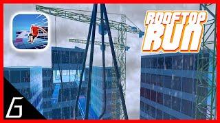 Rooftop Run Gameplay | First Levels 1 - 15 screenshot 3
