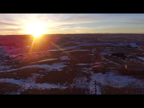 DJI Phantom 3 Flight in Beautiful Calgary Alberta