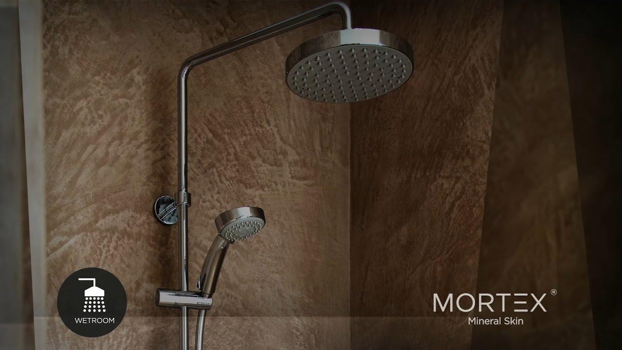 mortex beton cire mineral skin film