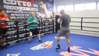 Miguel Cotto trains harder than ever