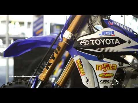 Inside the Pro's Bikes featuring Justin Brayton's Factory JGR Yamaha YZ450F