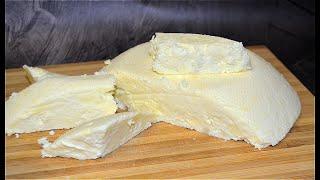 Адыгейский сыр в домашних условиях из 2х ингредиентов Молоко соль и сыр готов