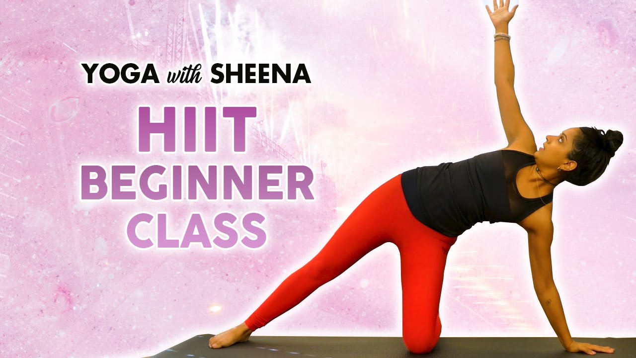 Cardio Yoga HIIT Workout for Weight Loss & Fat Burning! 40 Minute No Equipment Fitness Yoga Clas