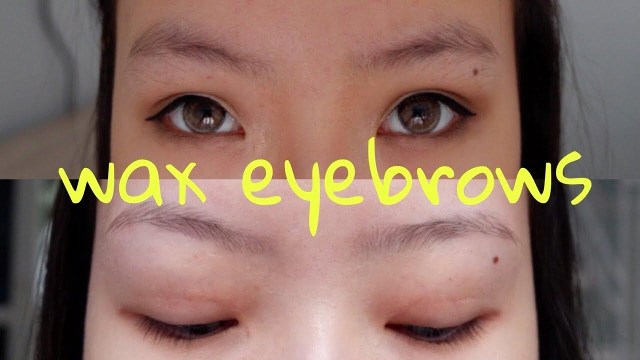 Eyebrows Threading Wax Eyebrows Review Waxhaus Youtube
