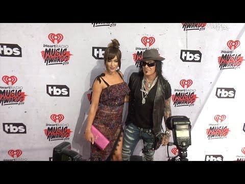 Nikki Sixx & Courtney Sixx 2016 iHeartRadio Music Awards Red Carpet