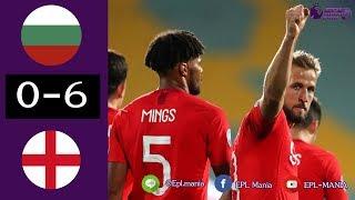 ไฮไลท์ฟุตบอล ยูโร 2020 รอบคัดเลือก บัลแกเรีย 0-6 อังกฤษ 15 ต.ค. 2019