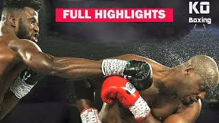 Efe Ajagba vs Jonnie Rice | HIGHLIGHTS | Full FIGHT 1080p HD BOXING FIGHT