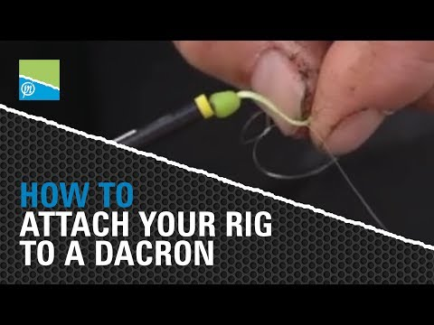 Des Shipp Shows You How To Attach Your Rig To A Dacron Connector