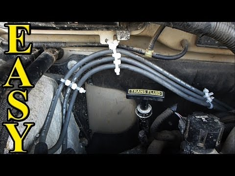 How to Replace Spark Plug Wires (Ford Ranger, Mazda B3000)
