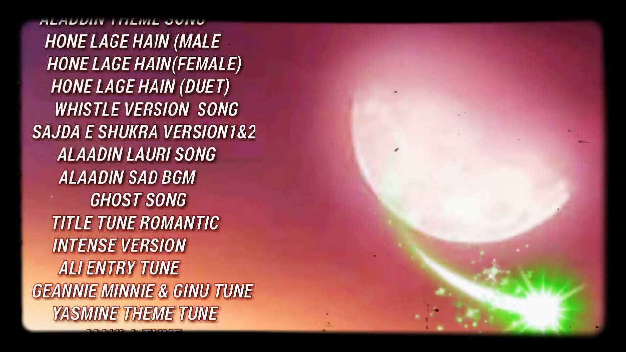 Download Aladdin Naam Toh Suna Hoga   All Theme Songs   SAB TV