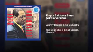 Empty Ballroom Blues (78rpm Version)