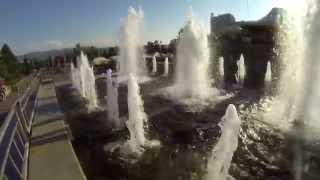 Красноярские музыкальные фонтаны