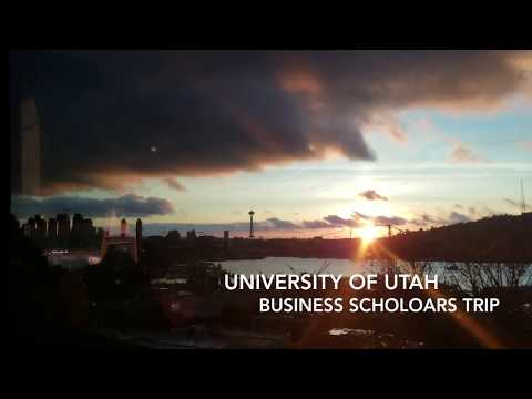 seattle 2018 - U of U business scholars trip