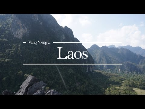 Best Vang Vieng Trip - Laos 2016 Tubing & Travel [GoPro 4 Silver & Sony A6000]