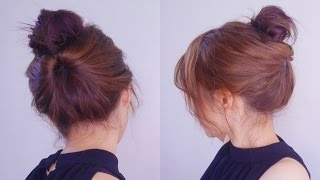 [Eng Sub]Easy French Twist Hairstyle