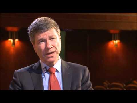Jeffrey Sachs: new sustainable development goals. Why?