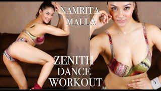 NAMRITA MALLA ZENITH DANCE WORKOUT EASY STEP IN BELLY DANCE STYLE DJ SUNNY GERA HOT/SEXY