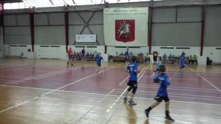 Гандбол. Приморская СДЮСШОР СПБ - ККДЮСШ-1 (г. Краснодар)