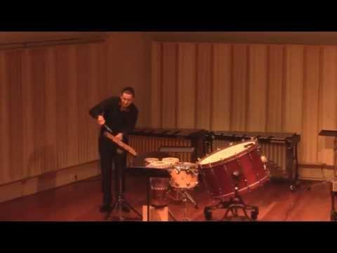 "Rebonds B - Iannis Xenakis ""Extreme!!!"" by Konstantyn Napolov"