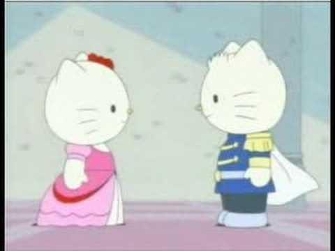 Hello Kitty as Cinderella Frame (Part 3) - YouTube