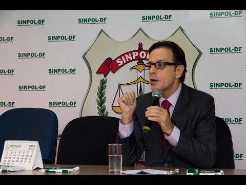 Palestra de Ricardo Balestreri, ex-Secretário Nacional de Segurança Pública