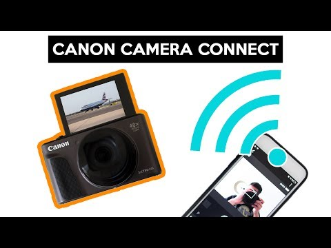 Canon Camera Connect app | connect your smartphone to your camera | Canon PowerShot SX730 HS