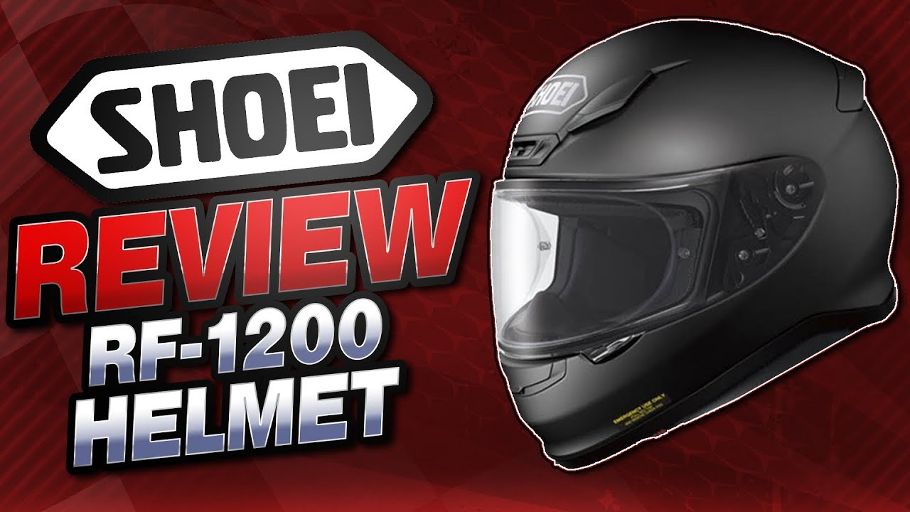 15883ad5 Shoei RF-1200 Helmet Review from SportbikeTrackGear.com - YouTube