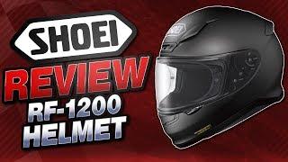 Shoei RF-1200 Helmet Review from SportbikeTrackGear.com