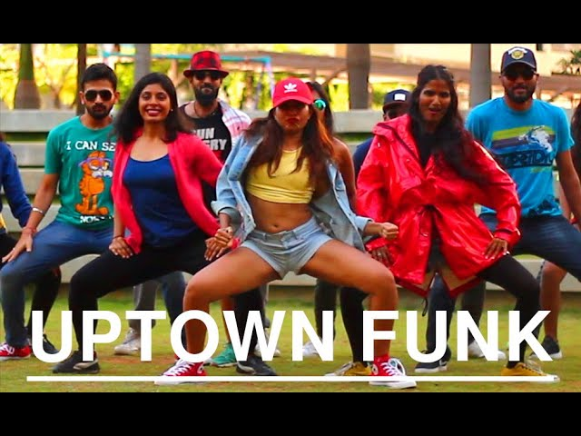 Mark Ronson Uptown Funk Ft Bruno Mars Choreography Dance Video Iitb
