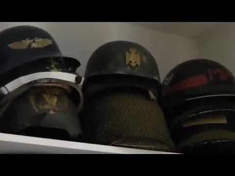 Helmet collection ww1, ww2, post war, pre war etc