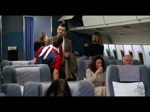 Mr.bean funny video ( fast time airplane )must watch this video. thumbnail