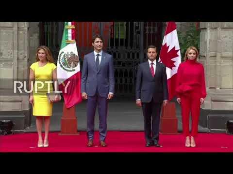 Mexico: Trudeau meets with Nieto ahead of NAFTA showdown following US visit