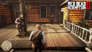 Red Dead Redemption 2 (RDR2) - Open World Free Roam & Bounty Hunting Gameplay